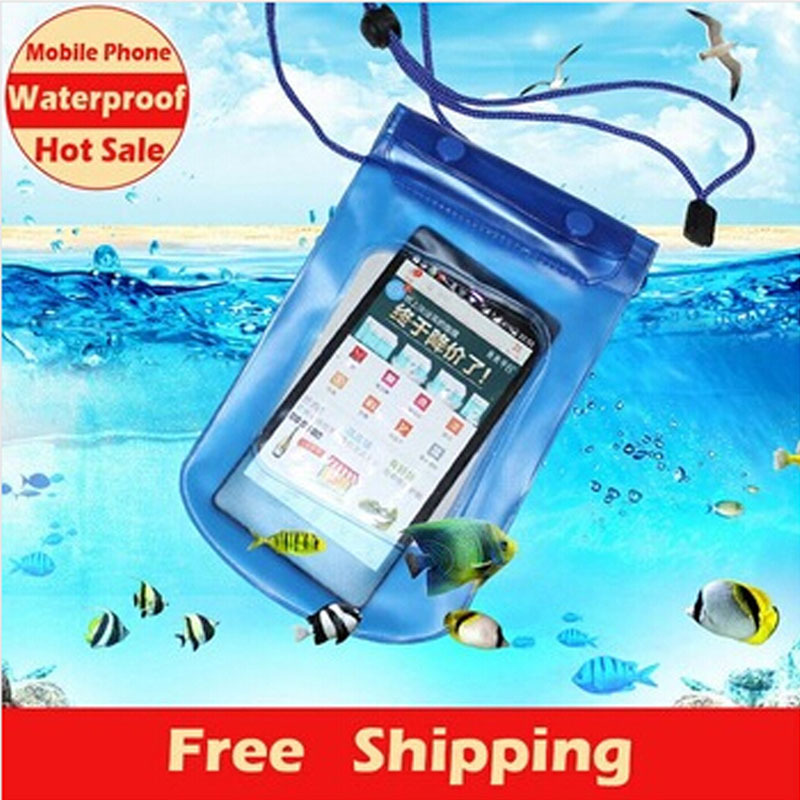 Useful Mobile Phone Waterproof Pouch Bag Case Cover Underwater Touch Water Proof ,Travelling/ Swimming/ Boating/ Surfing/ Diving - Xinglong store