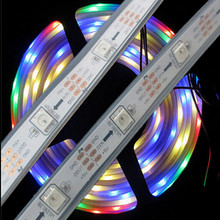 DC5V WS2812B led pixel srip,IP68 in silicon tube,30pcs WS2812B/M with 30pixels;36W;white pcb 5M(China (Mainland))