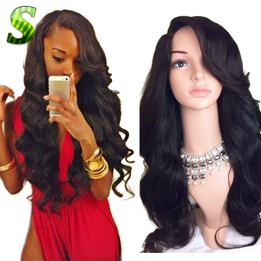 Гаджет  7A Glueless Full Lace Wigs For Black Women Peruvian Full Lace Wigs With Baby Hair Body Wave Human Hair Lace Front Wigs Free Ship None Волосы и аксессуары