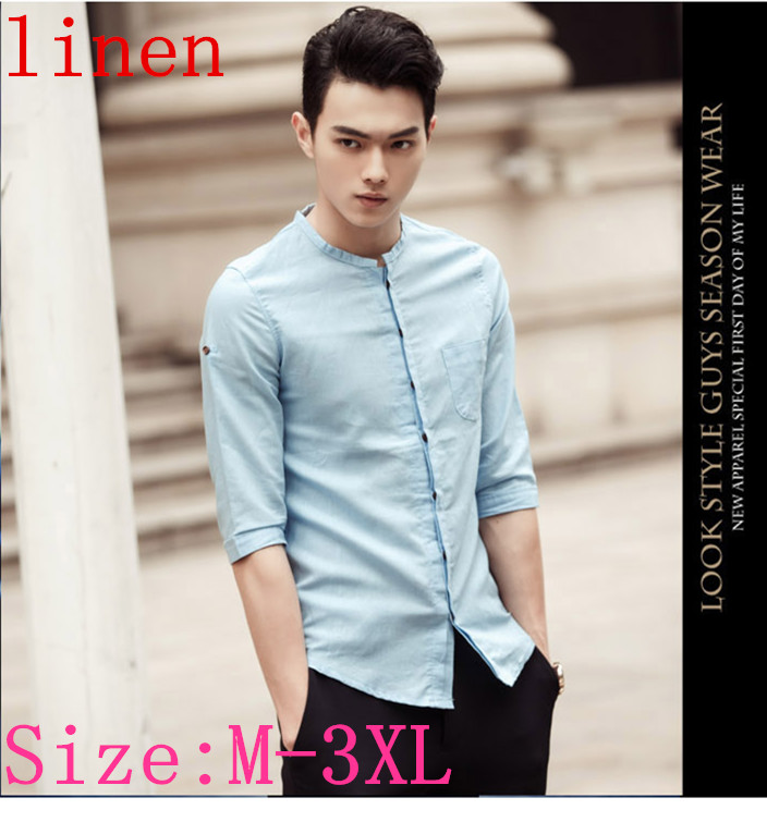 Buy 2015 Summer Style Mens Fitted Shirts
