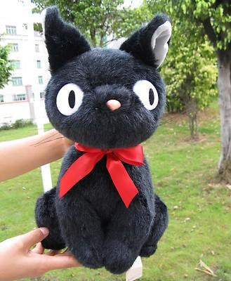 35cm Big Original Collection Ghibli Kiki's Delivery Service Black Cat Cute Soft Stuffed Animals Plush Toy Doll Birthday Gift(China (Mainland))
