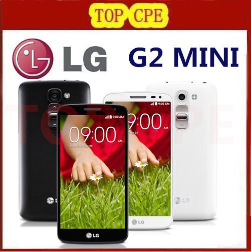 """Открынный LG G2 мини D620 оригинальный сотовый телефон Quadl 4.7 """" емкостный экран 8MP камера 1 г оперативной памяти 8 г ROM 3 г 4 г Android телефон"""