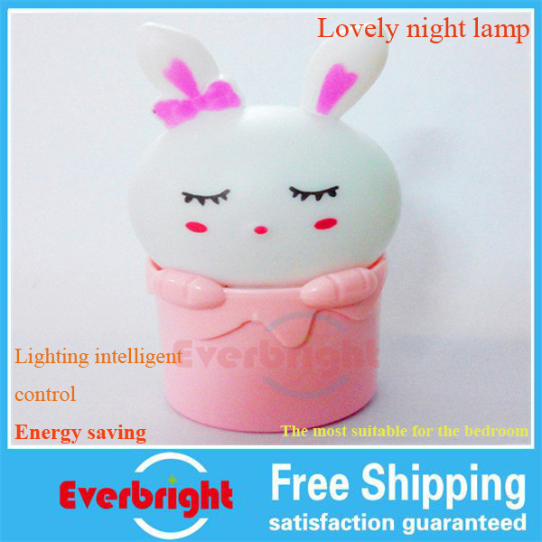 Free shipping 10pieces /lot lovely rabbit Bedroom Party Wedding LED table Lamp Night Light New<br><br>Aliexpress