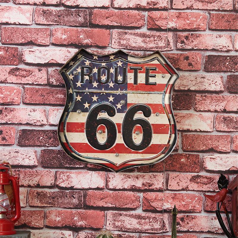 Vintage mode annonces promotion achetez des vintage mode for Decoration murale route 66