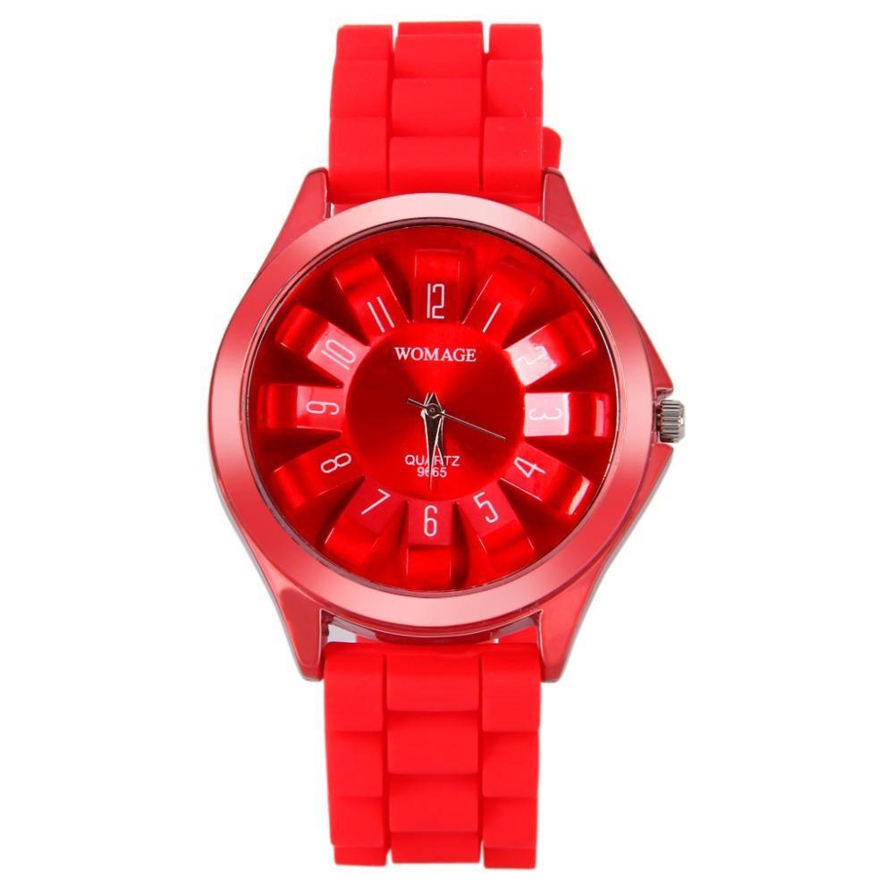Relógio de Pulso para Senhoras Relógio de Pulso de Quartzo 2016 de Alta Qualidade Moda Unissex Jelly Doce Silicone Strap Mulheres Meninas Frete Grátis