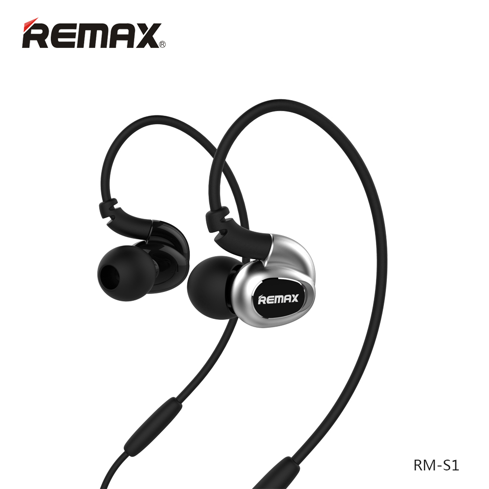 Remax High Fidelity Stereo Sounds Ear Hook Earphone High Performance Precise Deep Bass Headphone for iPhone 5 6 6s Android Phone(China (Mainland))