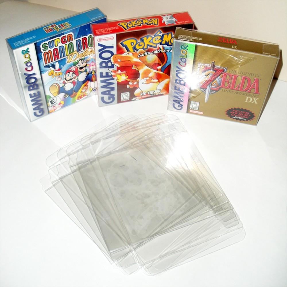 game boy color giochi : 100 Pz Lotto Gameboy Gameboy Color Gameboy Advance Game Box Protezioni