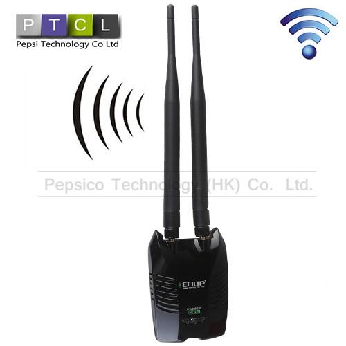 EDUP Wireless 150Mbps USB 2.0 Universal Serial Bus LAN Card High Power High Sensitivity 802.11b/g/n 6dbi Antenna 2.4G Network(China (Mainland))