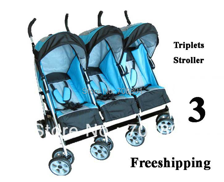 Triplets carriage Triplets stroller  baby prams buggy Retail &amp; Wholesale freeshipping<br><br>Aliexpress