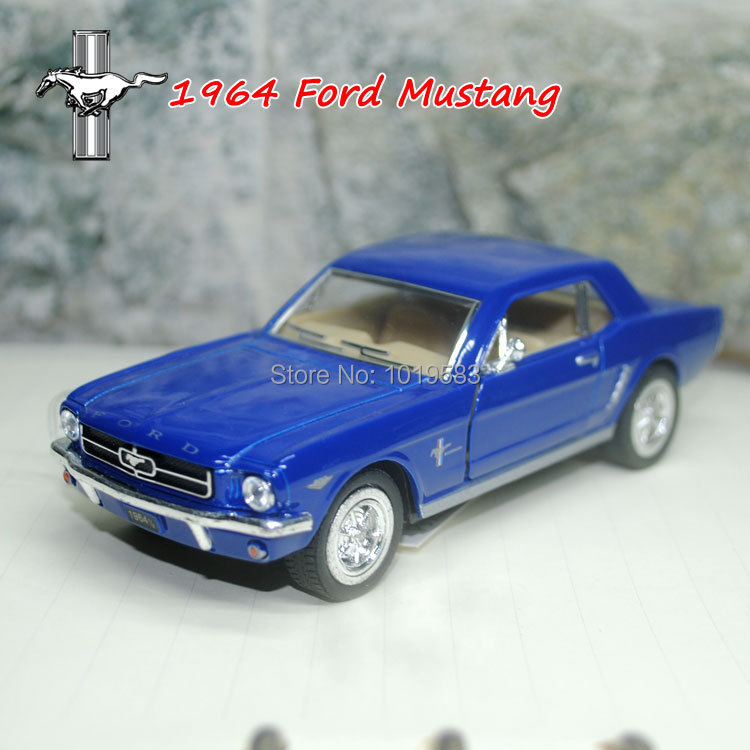 (5pcs/pack) Wholesale Brand new 1/36 Scale Classic Vintage Car Toys 1964 Ford Mustang Cool Diecast Metal Pull Back Car Model Toy(China (Mainland))