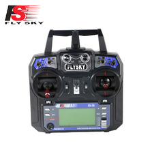 Flysky FS-i6 2.4G 6ch RC Transmitter Controller with FS-iA6 Receiver For DIY QAV250 Helicopter Drone Quadcopter Free shipping