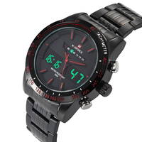 2015 New Fashion NAVIFORCE Clock Samural Japan Quartz Watches men Luxury Brand Waterproof Digital Sport Military Army Wristwatch