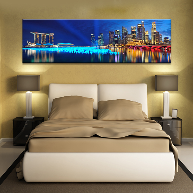 hotel rooms and bedroom decoration painting murals wall art canvas