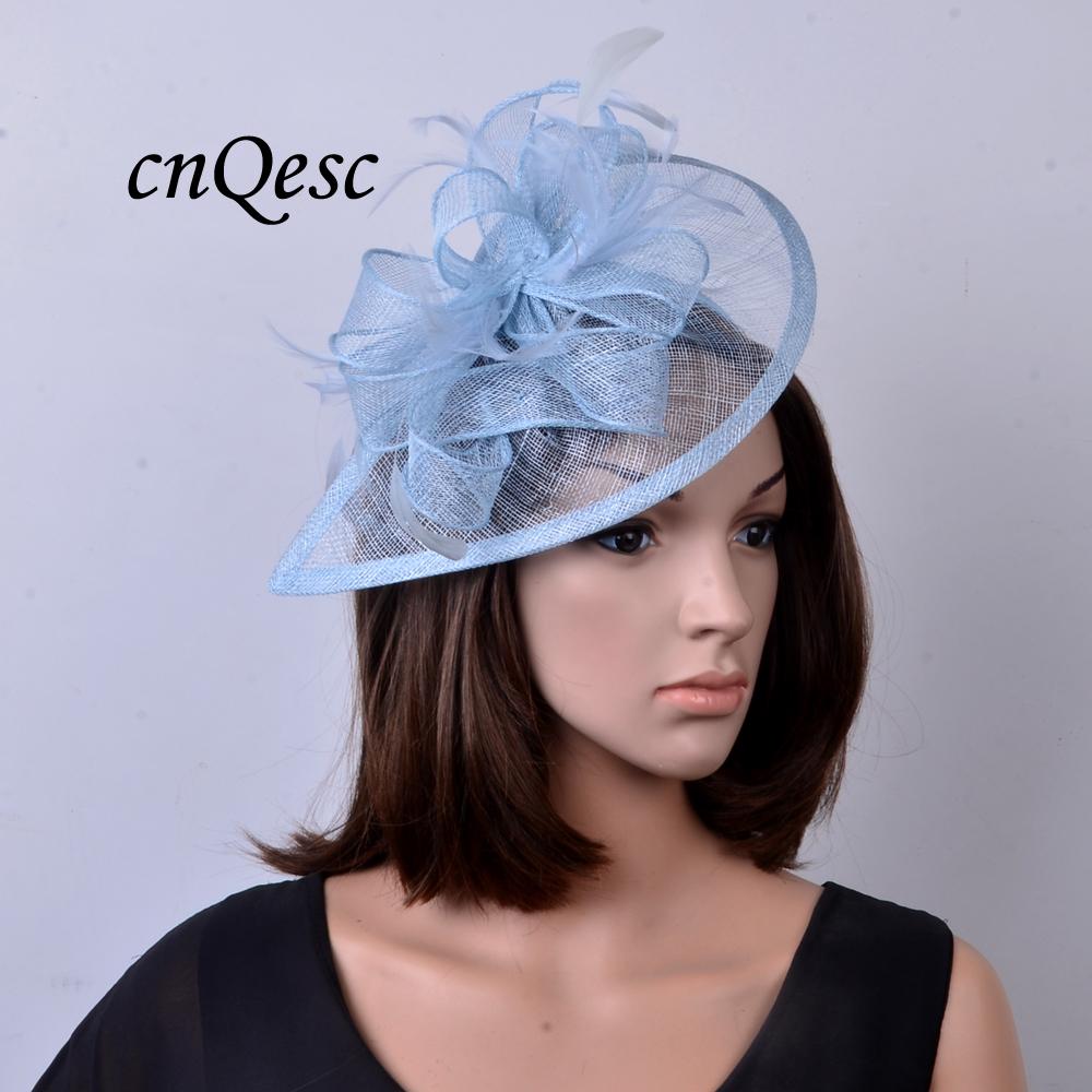 P le bleu couleur promotion achetez des p le bleu couleur for Des chapeaux pour les mariages