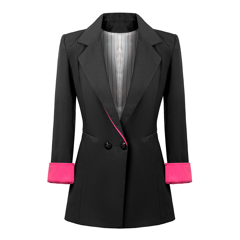 The classic tuxedo jacket designed by and for women. Bring the classic refinement of a well-fitted tux into your wardrobe with our line of black and white women's tuxedo jackets.
