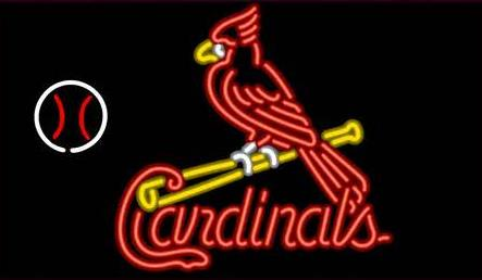 "NEW ST. LOUIS BUDWEISER CARDINALS MICHELOB REGORS BAR CUSTOM LIGHT 24""X24"" GLASS NEON SIGN BEER BAR PUB SIGN ARTS CRAFTS GIFTS(China (Mainland))"