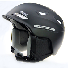 PROPRO new one-piece high-end ski helmet helmet warm hat snow skiing essential veneer double plate(China (Mainland))