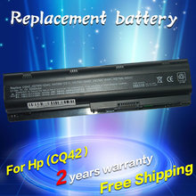 Laptop battery for HP Compaq Notebook Battery MU06 593553 001 593554 001 593554 001 Free shipping