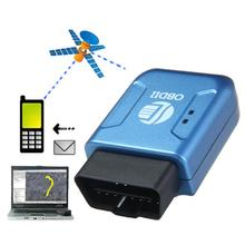 D6li OBD2 OBDII GPS GPRS Real Time Tracker Car Vehicle Tracking System Geo-fence Dec11(China (Mainland))