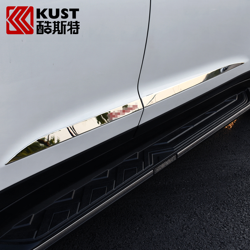 KUST Car Body Anti-rub Trim Strip For Hyundai For Tucson 2016 Decorate Protection Car Body Surface Sequin Strip For Tucson 2015<br><br>Aliexpress