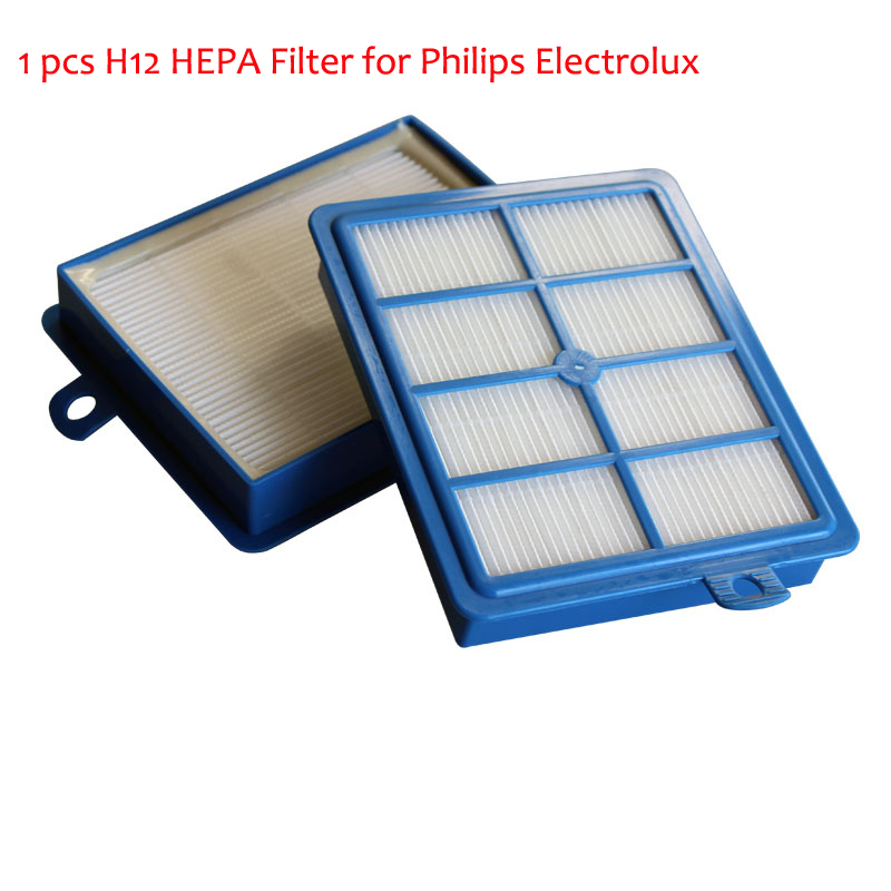 Vacuum Cleaner Parts H12 HEPA Filter For Philips Electrolux EFH12W AEF12W FC8031 EL012W HEPA H13 Filters 1PC Replacement(China (Mainland))