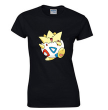 pokemon T Shirt Women Top Print 3d Togepi Tshirt Women Tee Casual T shirt Femme Summer Cotton T-shirt pokemon go Tops