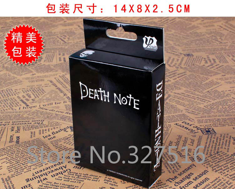 New ! Death Note Anime Poker Free Shipping(China (Mainland))