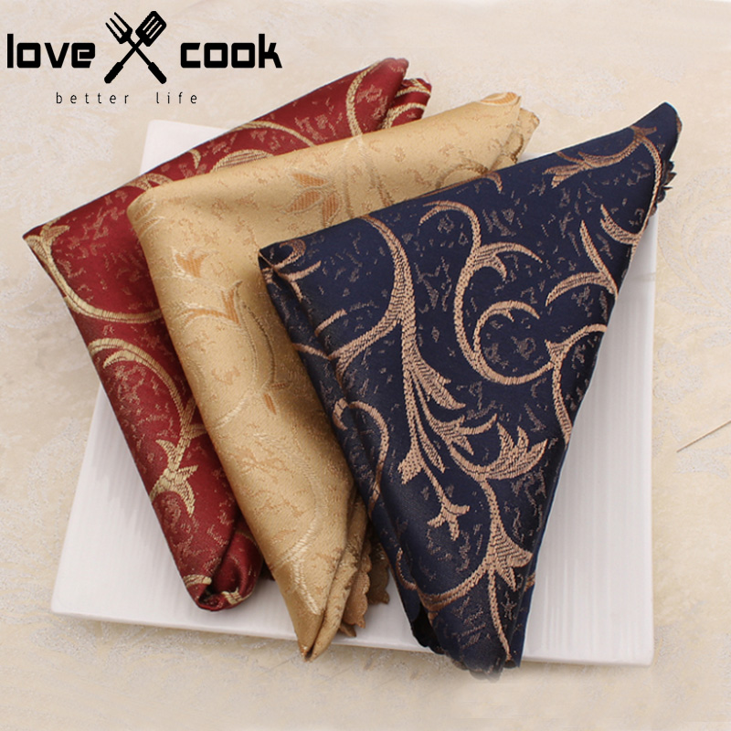 4pcs Fashion Dinner Serviette Hotel Table Napkin Folding Napkin Towel Home Cloth Vintage Napkin Coffee Towel Table Decoration(China (Mainland))