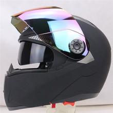 Free shipping motorcycle Helmet JIEKAI 105 motorbike helmet double lens helmet