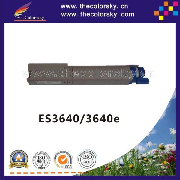 (CS-OC3640) compatible toner printer cartridge for OKI ES3640 3640e 3640 42918925 - 42918928 kcmy (15k/15k pages) free FedEx<br><br>Aliexpress