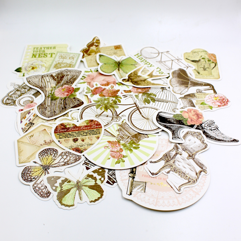 25pcs Vintage Car Cardstock Die Cuts for Scrapbooking/Card Making/Journaling Project Planner DIY 011(China (Mainland))