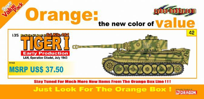 Dragon model 9142 1/35 scale Pz.Kpfw.VI Ausf.E Sd.Kfz.181, Tiger I Early Production, LAH, Operation Citadel, July 1943<br><br>Aliexpress