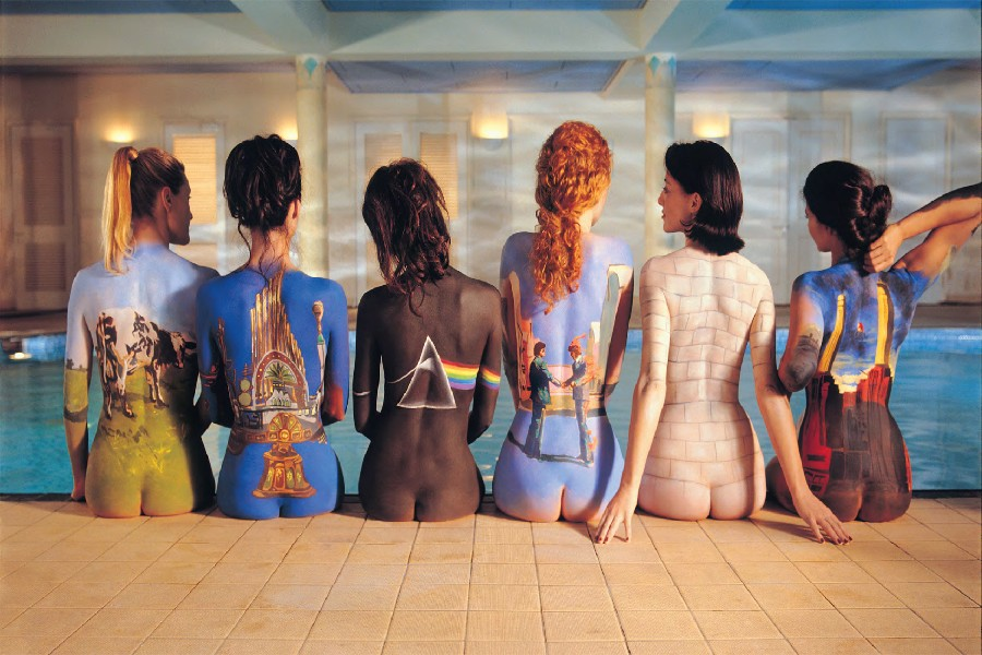 Pink Floyd Sexy Girls Silk Wall Posters Pop Classic Rock and Roll Music Band Pictures Fabric cloth poster print Home Decoration(China (Mainland))