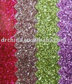 SELL glitter pvc vinyl fabric for embroidery(China (Mainland))