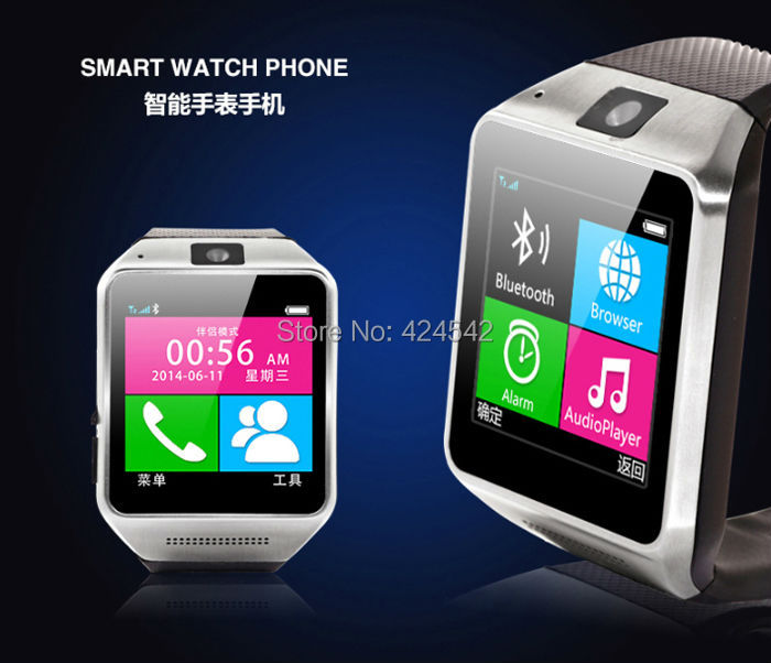 Crazy Promotion!!! Android Bluetooth Wireless Camera Music Watch Wrist For Samsung HTC Sony LG G3 Free Shipping(China (Mainland))