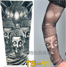An explosion models sunscreen men and women fake tattoo sleeves arm tattoo simulated explosion models 100% nylon elastic cuffs(China (Mainland))