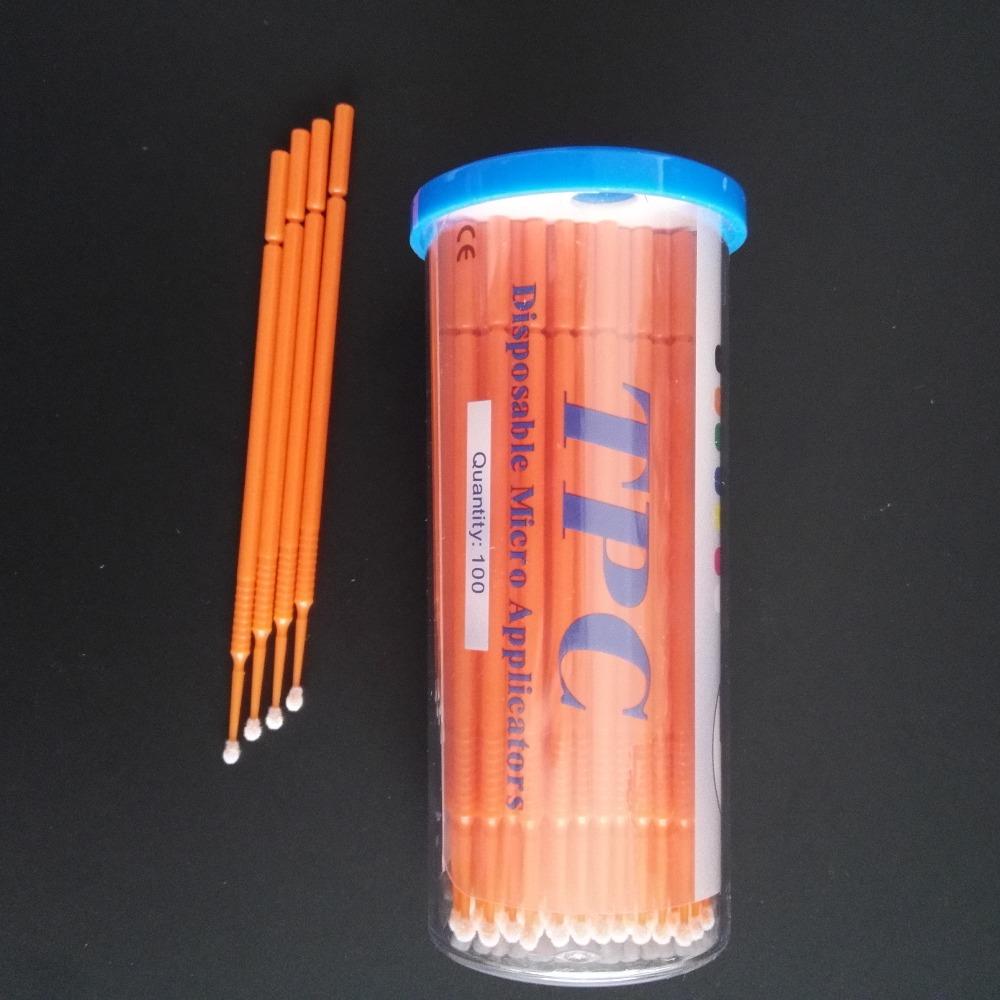 6 bottles Dental Disposable Micro Applicator Brush Bendable Teeth Whitening Dentist Lab Instruments(China (Mainland))