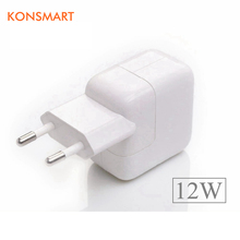 Buy KONSMART 2.4A Fast Charging 12W USB Power Adapter Travel Phone Charger iPhone 5s 6 6s 7 Plus iPad Mini Air Samsung Euro for $5.65 in AliExpress store