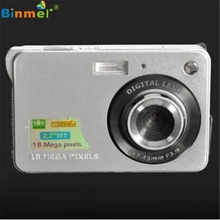 Superior Quality 18 Mega Pixels CMOS 2.7 inch TFT LCD Screen HD 720P Digital Camera UK plug Feb03(China (Mainland))