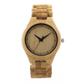 New Causal Full Maple Wood Bamboo Luxury men Watches 100 Natural Wood Wristwatch Bamboo Band Watch