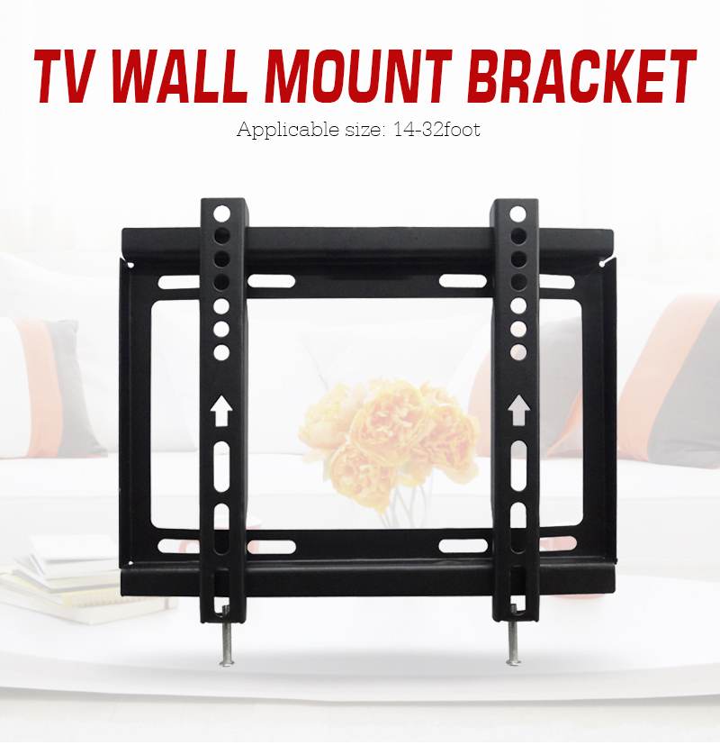 Oversea Lcd Led Tv Wall Mount Bracket Support for LCD LED 14 19 22 23 26 27 28 29 32 Inch Television Free Ship(China (Mainland))