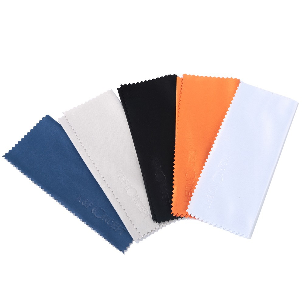 10pcs Glasses Camera Lens Micro Fiber Cleaning Cloth for DV CD Phone Screen Cleaner free shipping