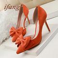ifang Women Wedding Shoes 2016 Bridal High Heels Sweet Party High Heel Shoes Woman Women Heels