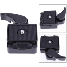 Buy Universal Quick Release Plate SLR DSLR Camera Lens Tripod Clamp Plate Adapter Tripod Monopods Tripod Mount Screw for $6.99 in AliExpress store