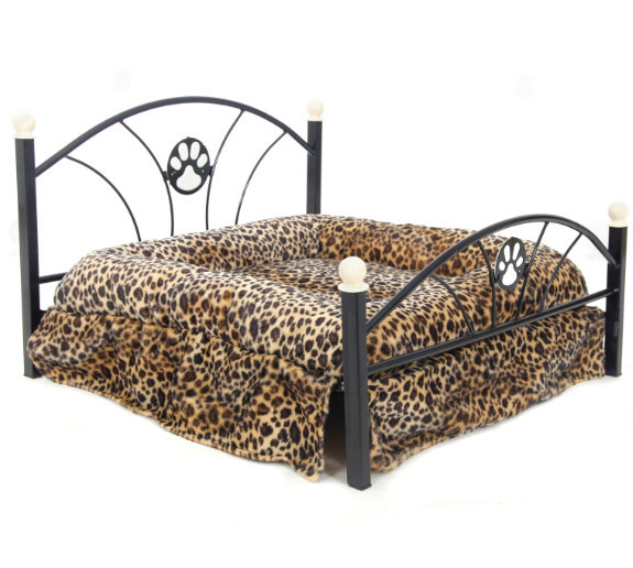 2015 Luxury Pet Dog Bed Camas Para Perros Cat Kennel Nest Pet Bed Sofa For Dogs Furniture With High Quality Zebra Leopard(China (Mainland))