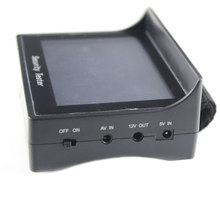 """CCTV Tester Security Camera Test 4.3"""" TFT LCD Video Monitor 12V OUTPUT with High Battery(China (Mainland))"""