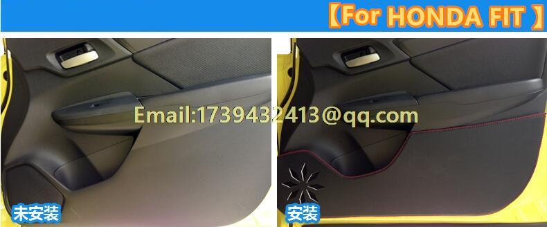 car door anti-kick protection pad car-styling accessories floor mat for Mercedes-Benz Mercedes GLE CLASS GLE320 350 400 450 250