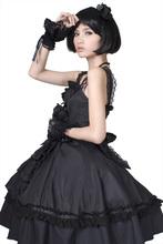 Gothic Sweet Cute Lolita Dolly Dress Black Nana Kawaii Cosplay Punk Corset