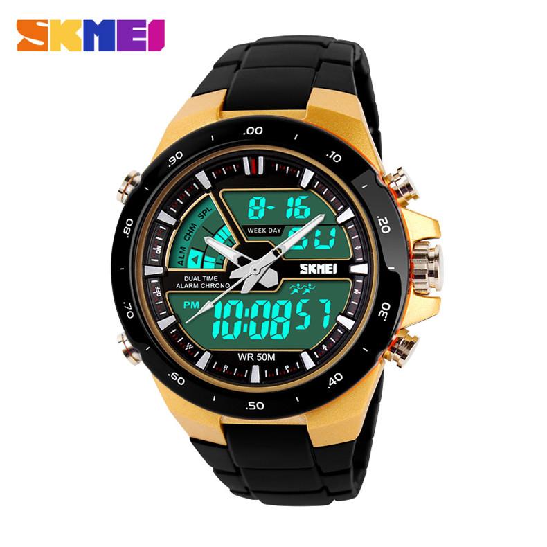 2015 SKMEI Men Sports Watches Quartz Digital Watch Men's Fashion Wristwatches Mens Multifunctional Relogio Masculino Relojes(China (Mainland))
