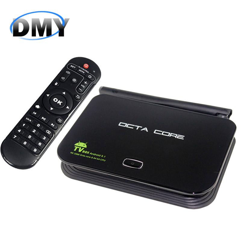 Z4 Android 5.1 set top TV Box 2G/16G WiFi & LAN UHD 4K * 2K RK3368 Octa-Core 64 Bits Mini PC Kodi /XBMC/DLNA Smart Media Player(China (Mainland))